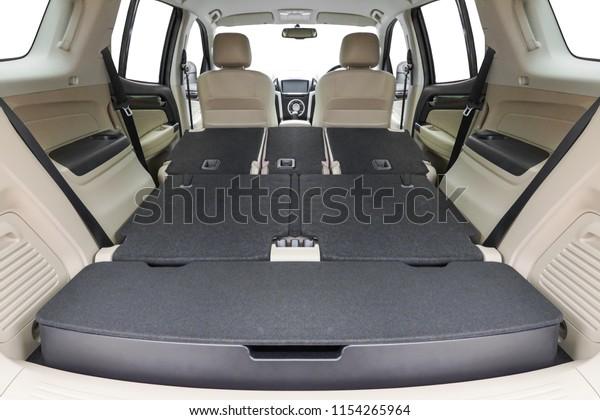 Folding Seats Cargo Space Inside Suv Stock Photo (Edit Now