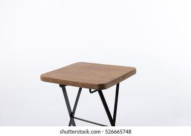 folding table comfortable picnic Furniture on white