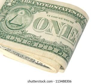 Folding US dollar