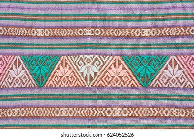folk traditional fabric pattern background