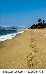 Follow the footsteps in Mexico