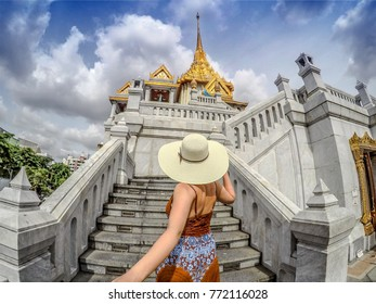 Follow me to Golden Buddha temple in Chinatown, Bangkok