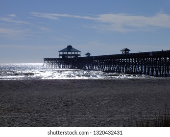 Folly Beach Pier Images, Stock Photos & Vectors | Shutterstock