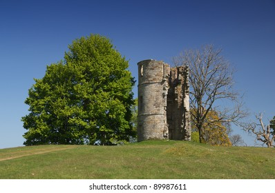 A folly called Castle Dangerous near Douglas, Lanarkshire