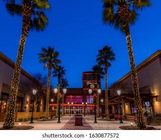 FOLSOM, CALIFORNIA, USA - December 25, 2019: Palladio 16 Theater at the Palladio Mall