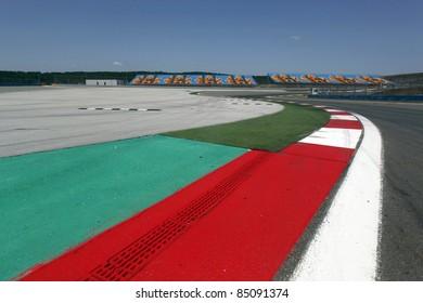 Fomula 1 circuit in Istanbul,Turkey