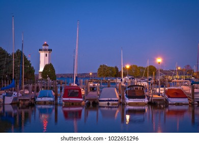 The Fond du Lac lighthouse is located at the Southern end of Lake Winnebago, at the entrance to the Yacht Club, in Fond du Lac, Wisconsin.