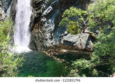 fonias waterfalls samothraki island