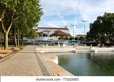The Fonte das Bicas or Chafariz de Borba, a marble fountain and national monument, symbol of the city of Borba, Alentejo, Portugal
