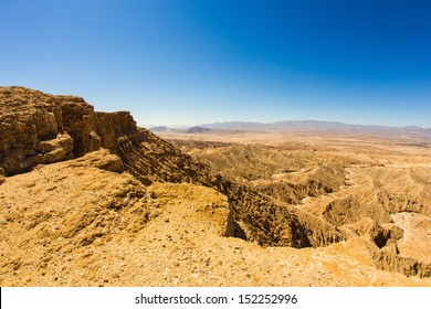 Fonts Point and view of the Borrego Badlands