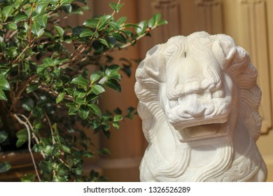 A Foo dog, Chinese or Imperial guardian lions