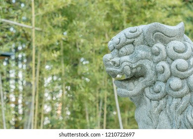 Foo Dogs at the gate