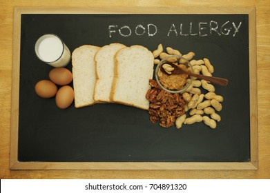 Food allergy. Food can cause food allergy in baby and toddler. The key common food allergy is egg, milk, peanuts, tree nuts, wheat, soy. Allergy in proteins