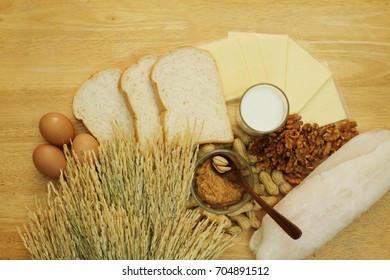 Food allergy. Food can cause food allergy in baby and toddler. The key common food allergy is egg, milk, peanuts, tree nuts, fish, wheat, soy. Allergy in proteins