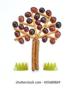 Food art - Tree