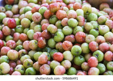 Food background. Only Fruit, food photography of ripe fruits at the market
