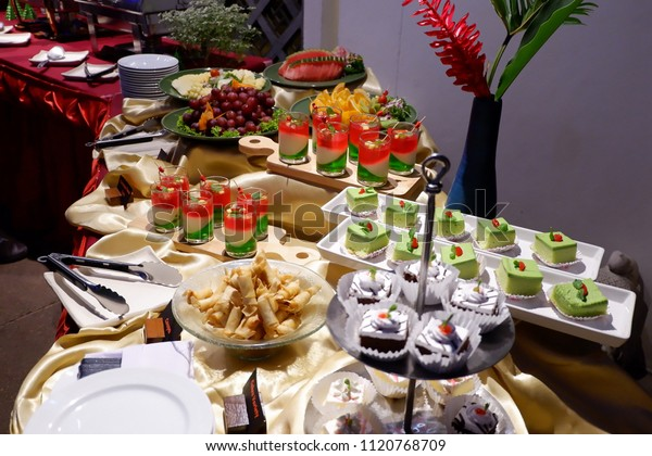 Fabulous Food Buffet Setup Ideas Background Stock Photo Edit Now Interior Design Ideas Gentotryabchikinfo