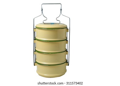 food carrier in white background