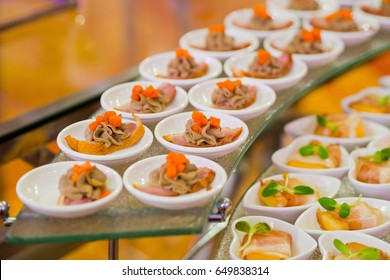 food cocktails wedding
