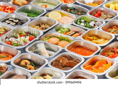 Food in the containers
