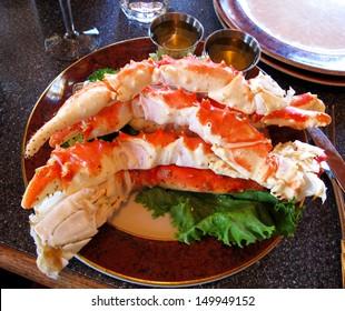 food crab of legs ,alaska food