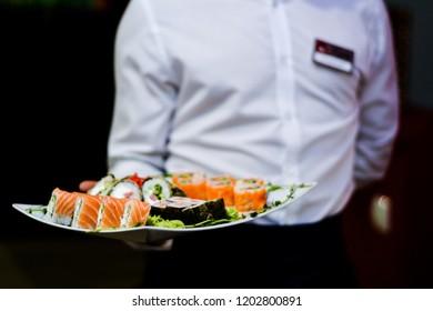 Food dish dish sushi restaurant