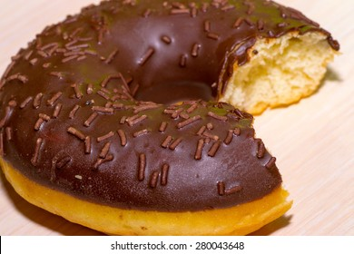 food drink donut eating white unhealthy background
