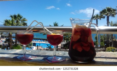 Food and drink in holliday in Gran Canaries