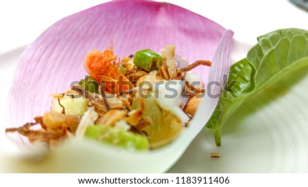 Food Fresh Vegetables Salad Dressing Canapes Stockfoto Jetzt