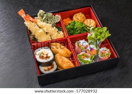 food good holiday making lunch box の写真素材 今すぐ編集