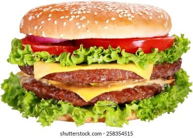 Food, Hamburger, Burger.
