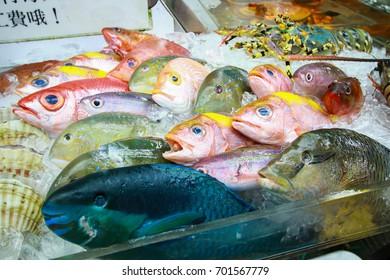 Food Market in Okinawa