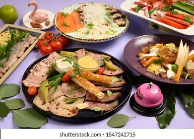 food for menu color tasty