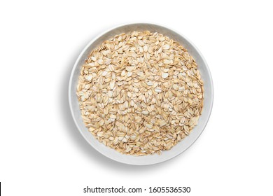 Food. Oatmeal on the table