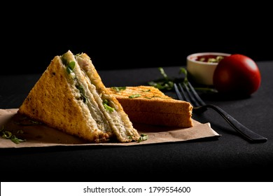 Food Photography - Veg. Sandwich