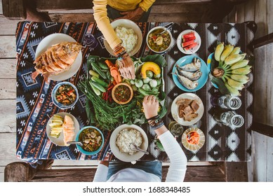 Food for picnic on holiday