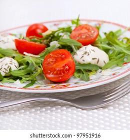 Food - plate with italian salad