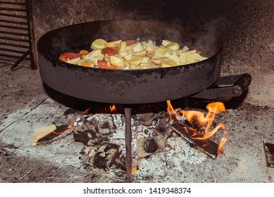 food to the plow disk typical of Argentine gastronomy