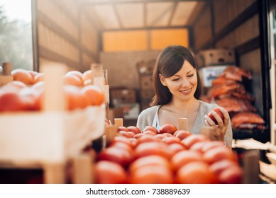 Food quality control. Checking the quality of the product. Checking imported products before sales.