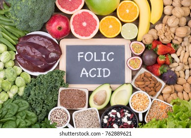 Food rich in folic acid
