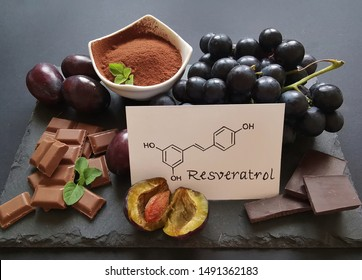 Resveratrol Images Stock Photos Vectors Shutterstock
