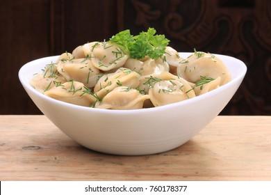 food, sausage, dumplings