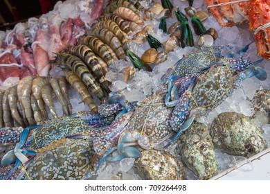 food and seafood, thai food style