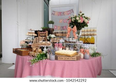 Food Snack Decoration Setting Party Celebration Stock Photo (Edit ...
