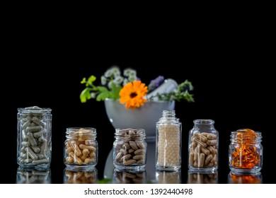 food supplement  of herbal medicine