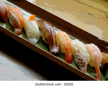 Food : Sushi tray