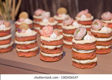 Food sweets junk food confectionery, eating catering food mini canapes food tasty dessert beautifully decorated