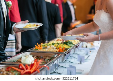 food wedding catering.