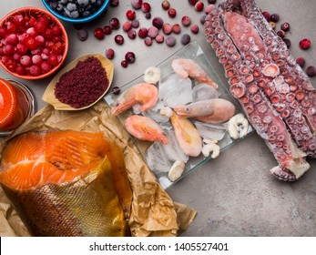 Foods Good Sources of astaxanthin, iodine, flavonoids and antioxidants, Healthy Nutrition