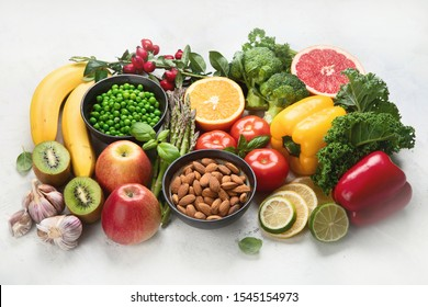 Foods high in vitamin C. Food rish in antioxidant, fiber, carbohydrates. Boost immune system and brain; balances cholesterol; promotes healthy heart.